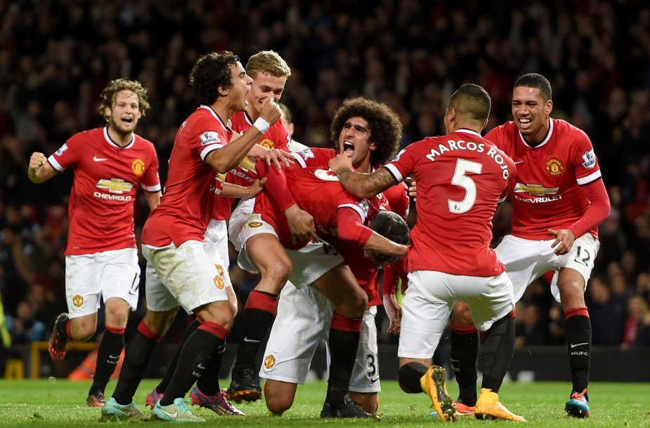 """Manchester United"" komandos džiaugsmas"