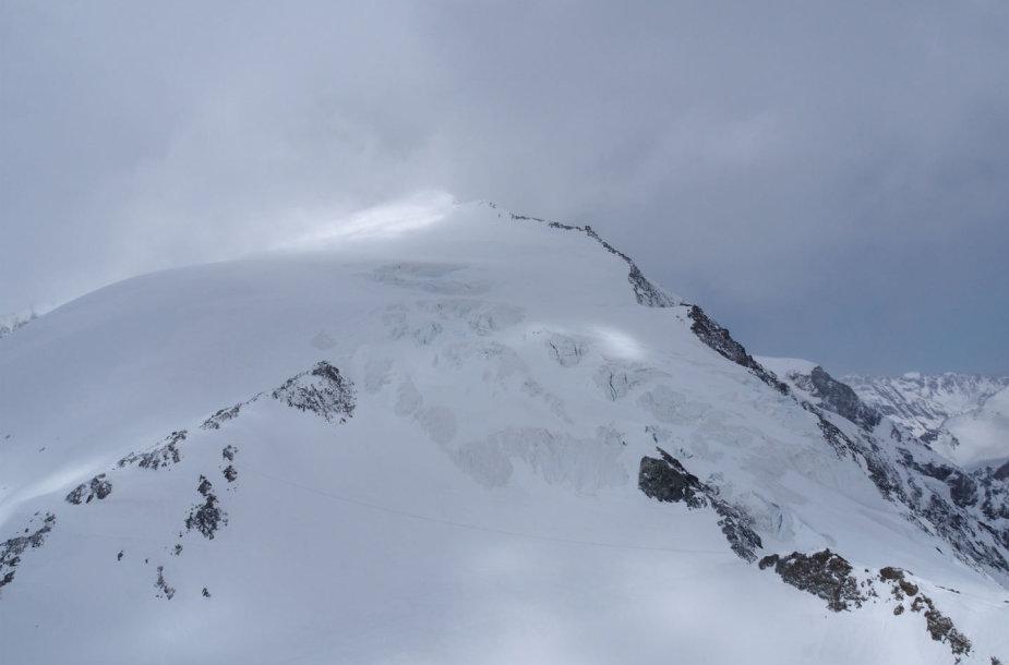 Slidininkai mirė šioje Šveicarijos Alpių vietoje