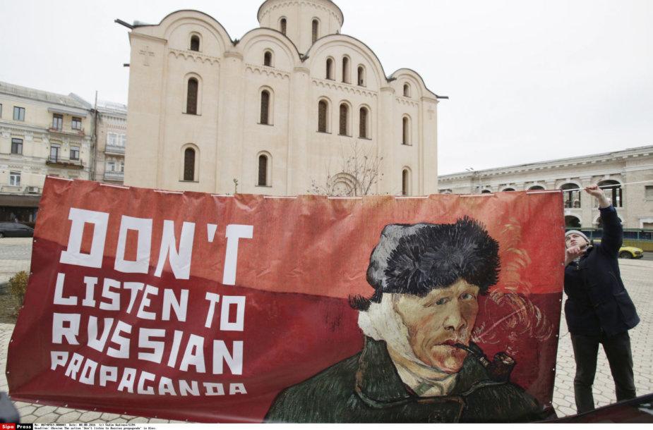 Latvija nori varžyti rusišką propagandą televizijoje