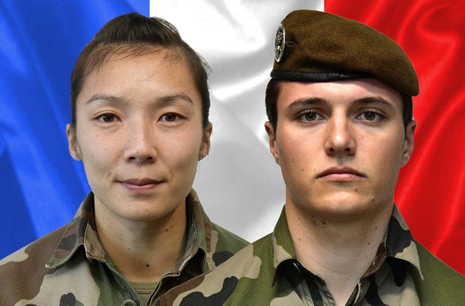 Yvonne Huynh ir Loicas Risseris