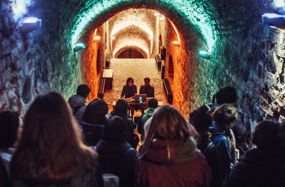 Muzika erdvėje'18: Vilniaus pokeris