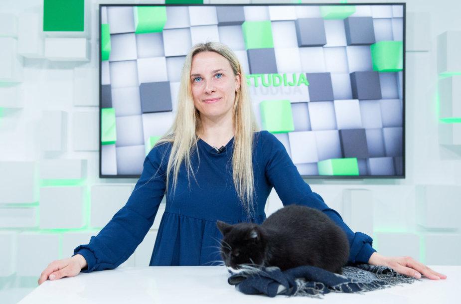 15min studijoje – veterinarijos gydytoja Agnė Stasiūnienė