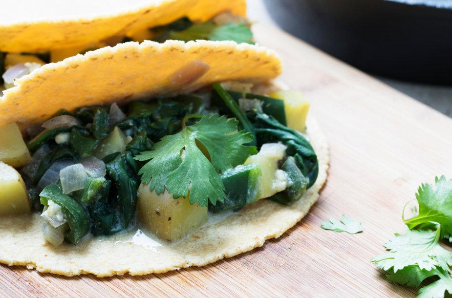 Veganiškas tacos