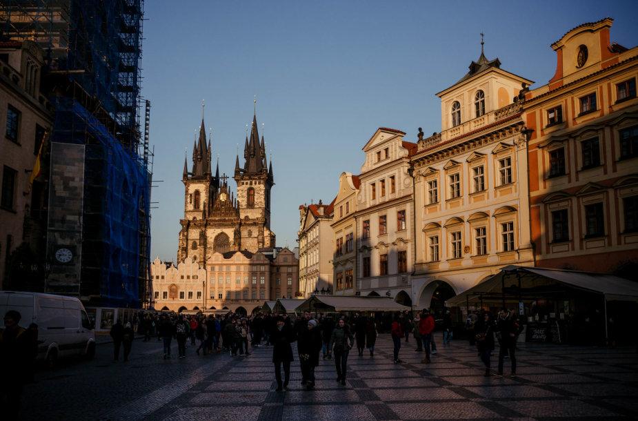 Pirmasis kovo savaitgalis Prahoje atspindi tikrą kalendorinio pavasario pradžią