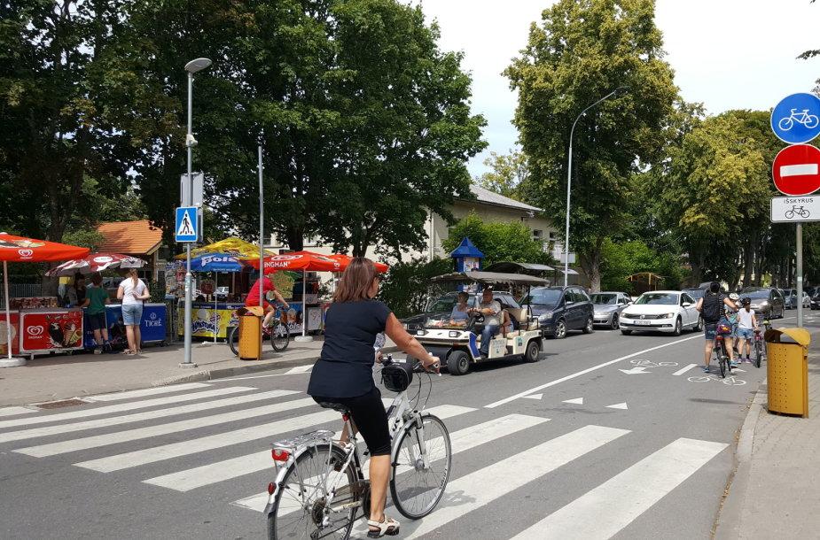 Naujasis Palangos dviračių takas