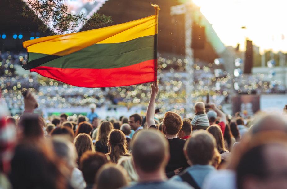 Dainų šventė Vilniuje