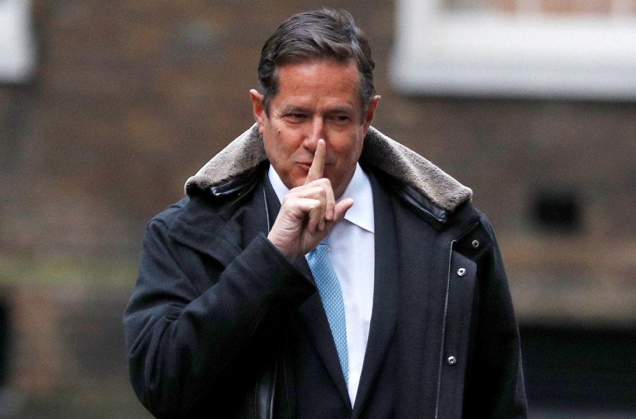 """Barclays"" banko vadovas Jesis Staley"