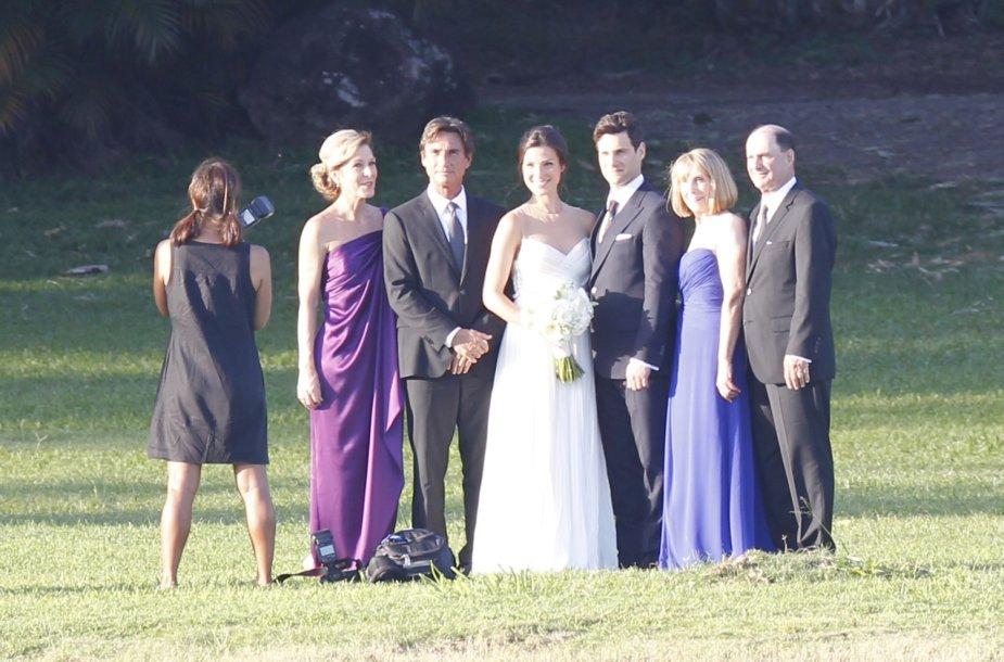 Justino Barthos ir Lios Smith vestuvės