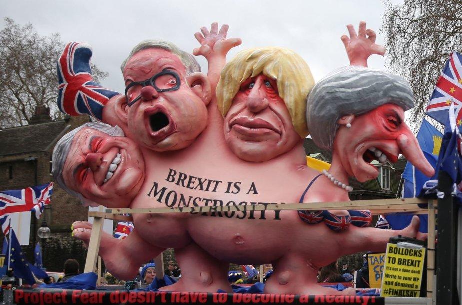 """Britai laukia sprendimo dėl """"Brexit"""""""