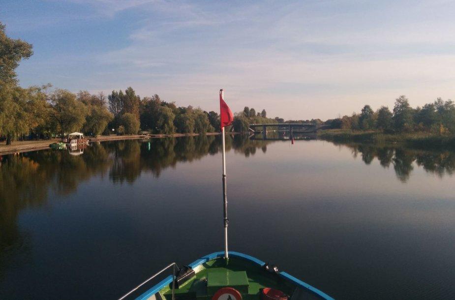 Plaukiant Augustavo apylinkėmis
