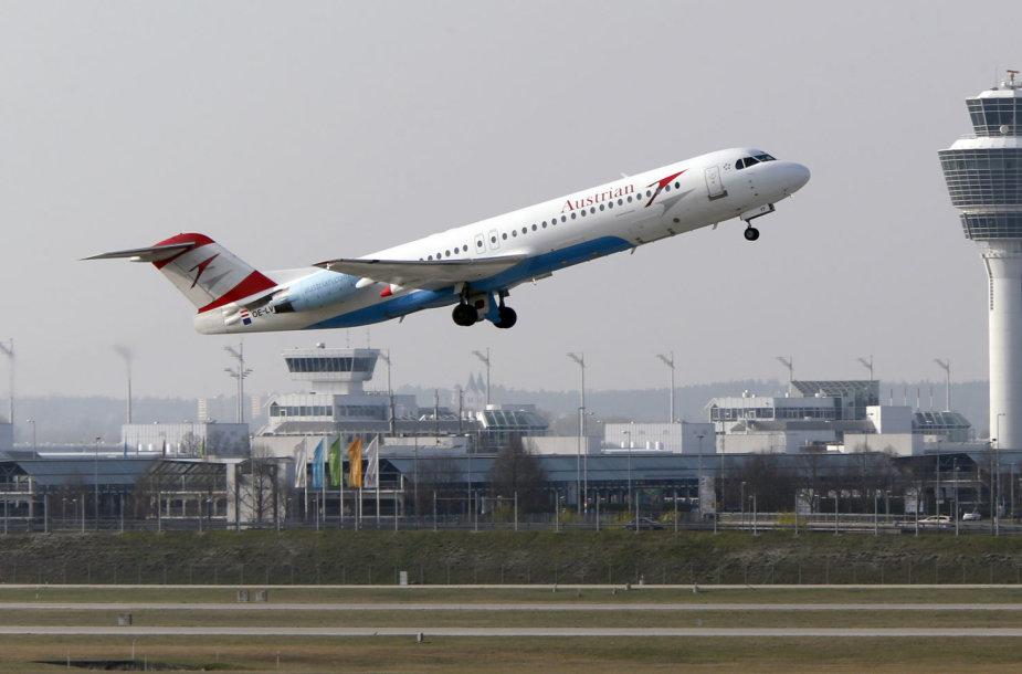 """Austrian Airlines"" lėktuvas"
