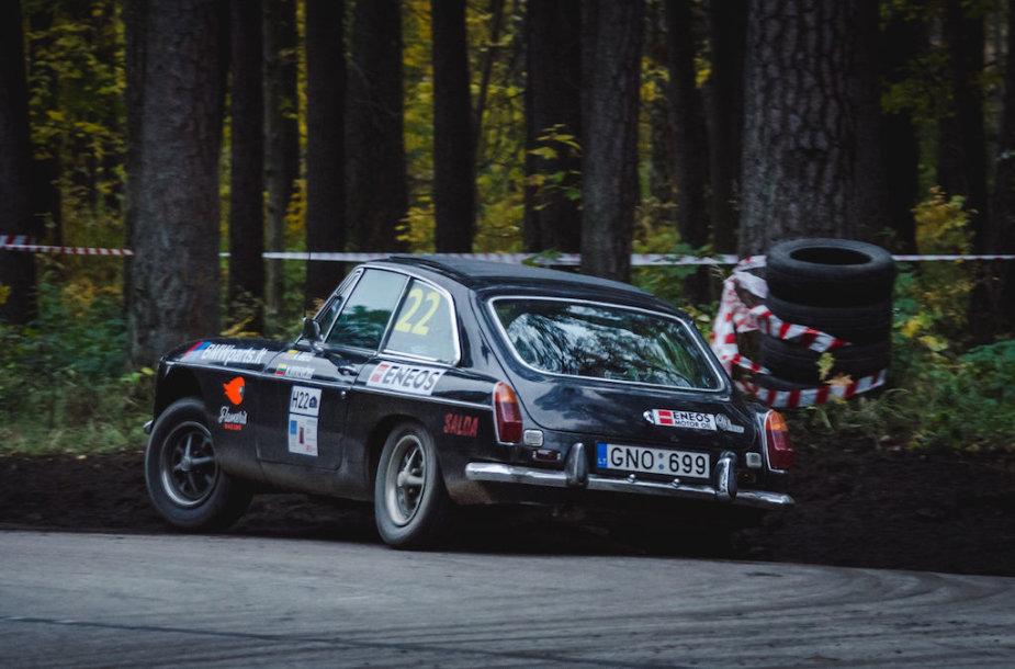 """Klasikinių automobilių ralis """"Rally Latvia"""""""
