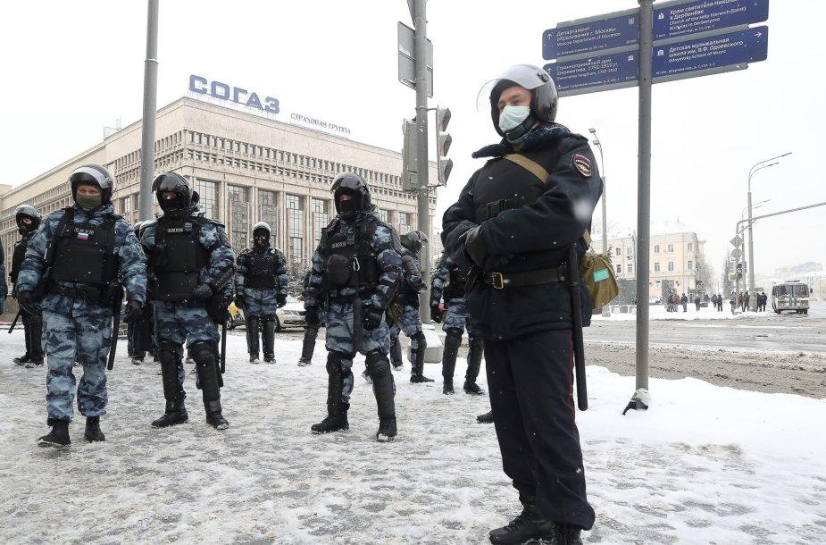 Policija Maskvoje