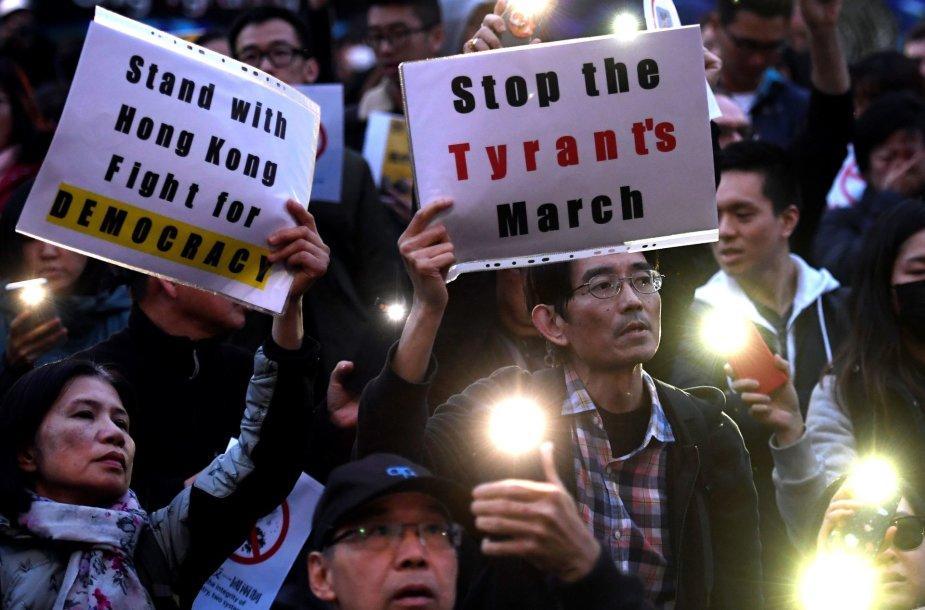 Protestas Honkonge