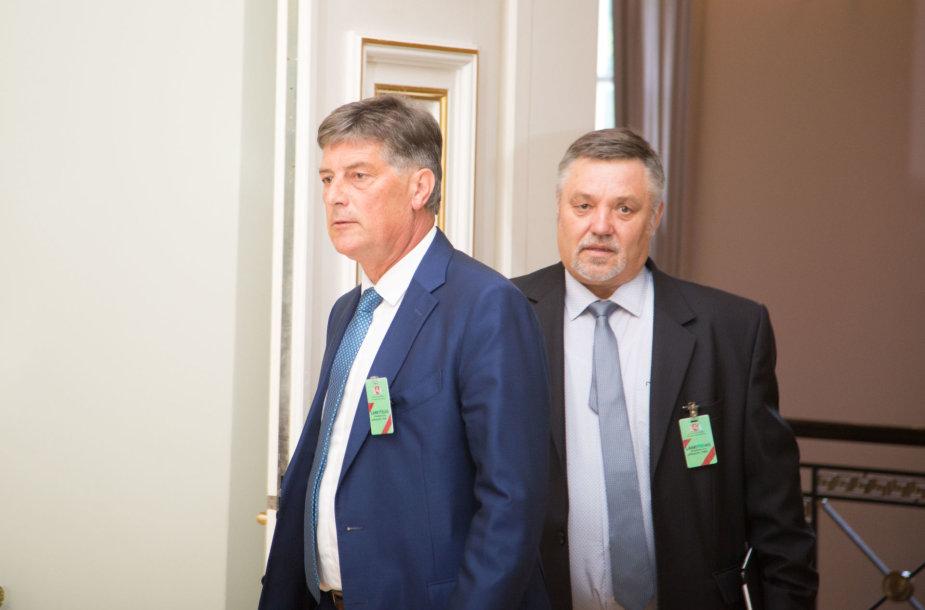 Šarūnas Klioklys ir Vytautas Vidmantas Zimnickas