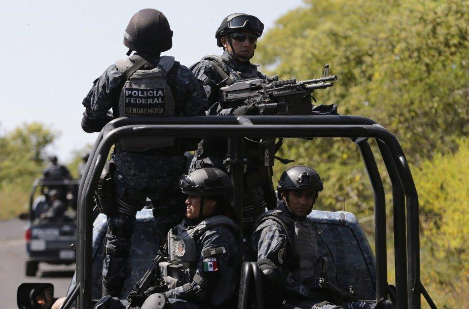 Dingusių studentų ieškojo Meksikos policija