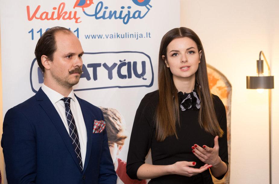 Audrius Bružas ir Gabrielė Martirosianaitė
