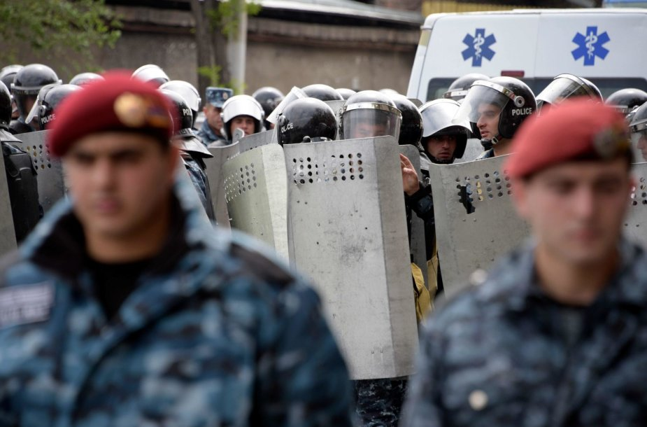 Protestai Jerevane