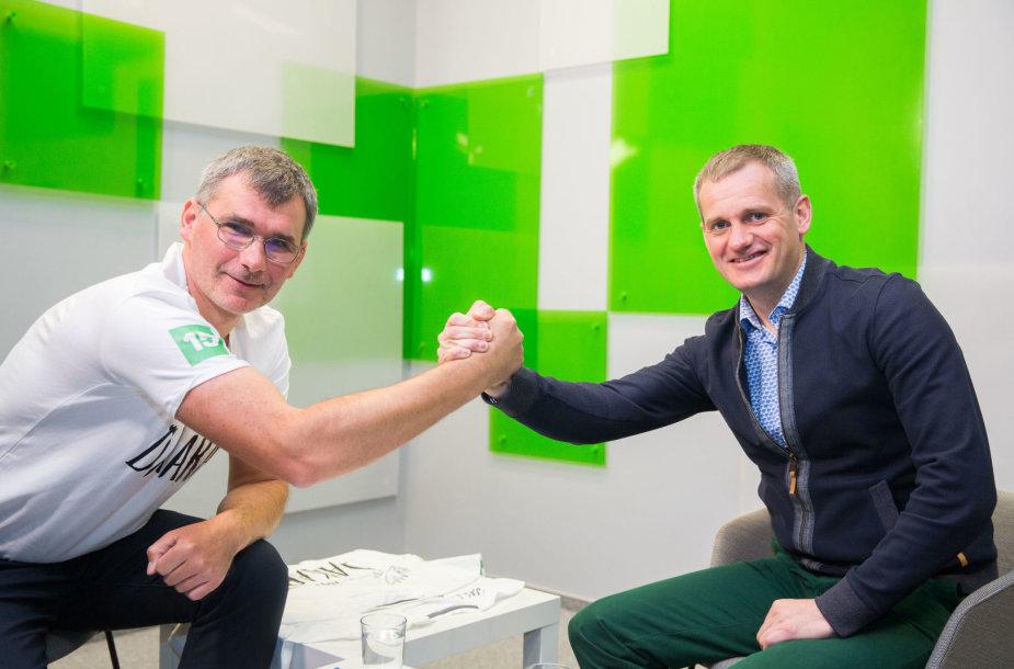 Žilvinas Pekarskas ir Balys Bardauskas