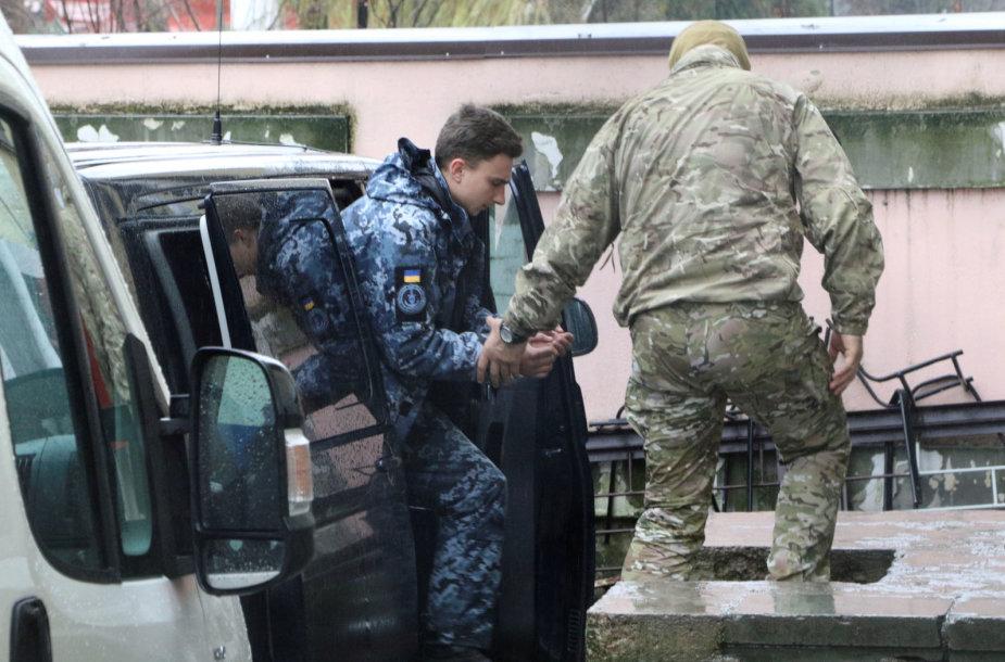 Sulaikytas Ukrainos jūrininkas