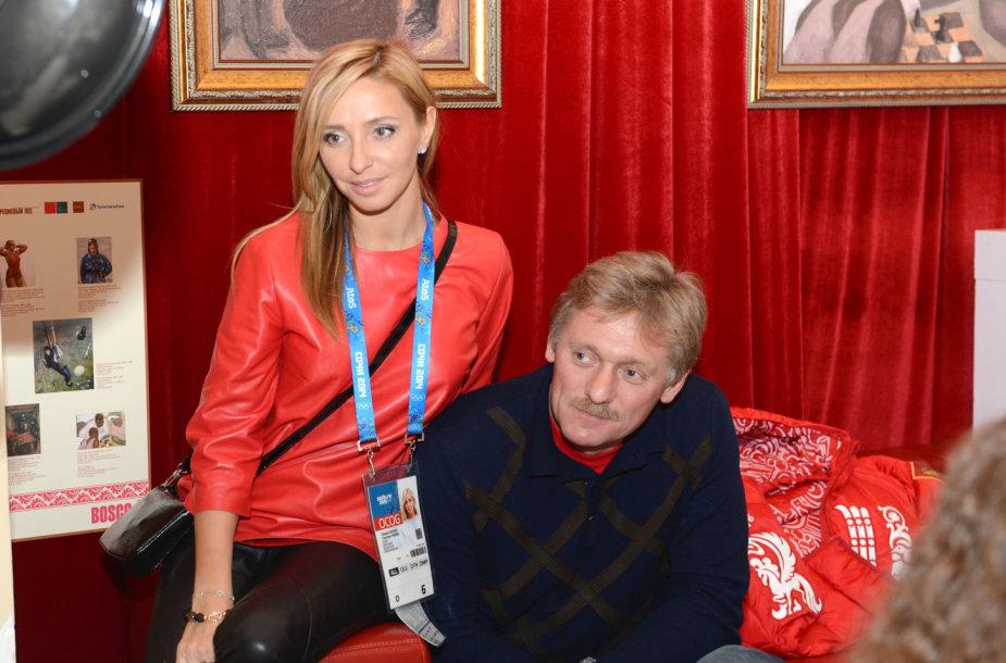 Tatjana Navka ir Dmitrijus Peskovas