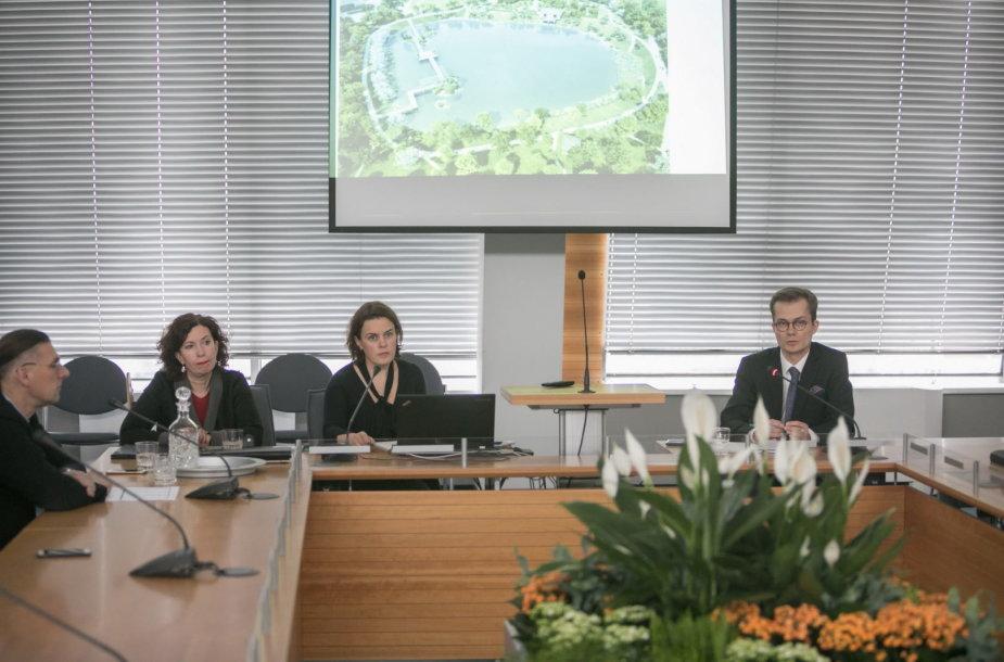 Vilniaus miesto savivaldybė su visuomenė aptarė japoniško sodo Vilniuje idėją