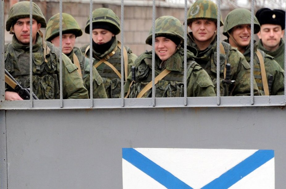Rusijos kariai Sevastopolyje