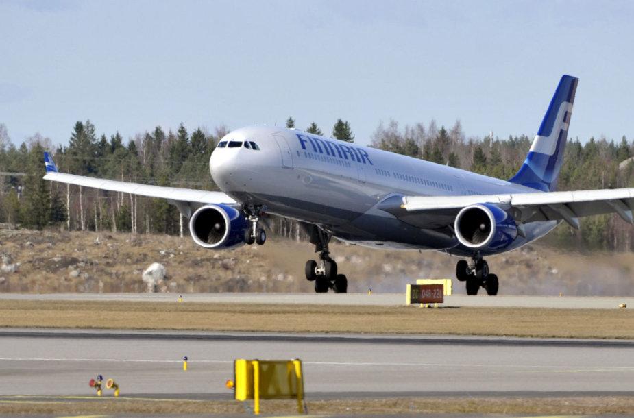 """Finnair"" lėktuvas"