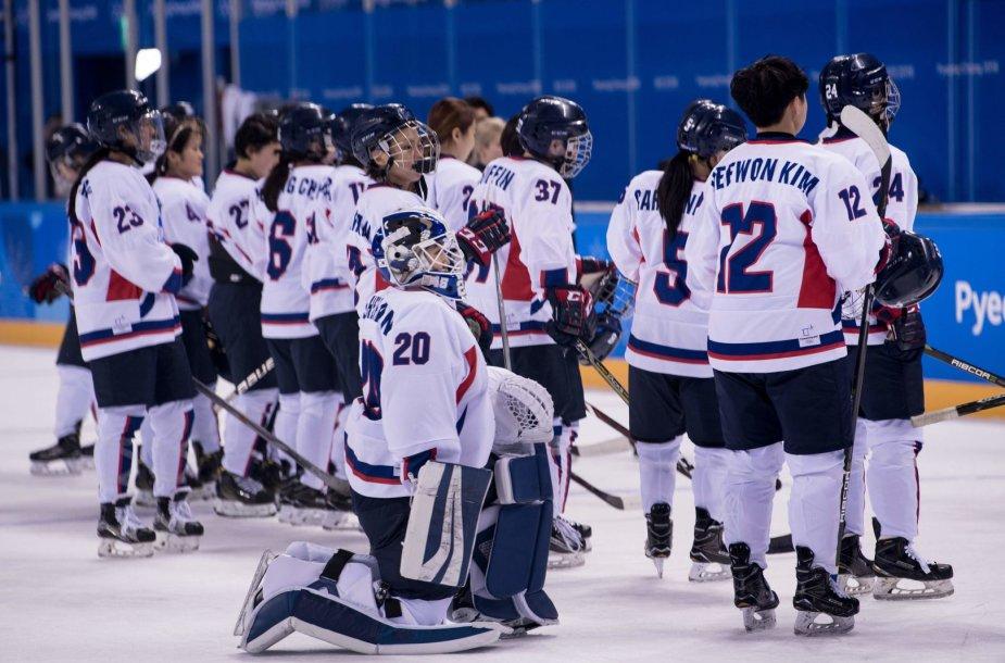 Jungtinė Korėjų moterų ledo ritulio komanda