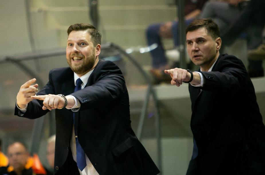 Gediminas Petrauskas ir Virginijus Sirvydis