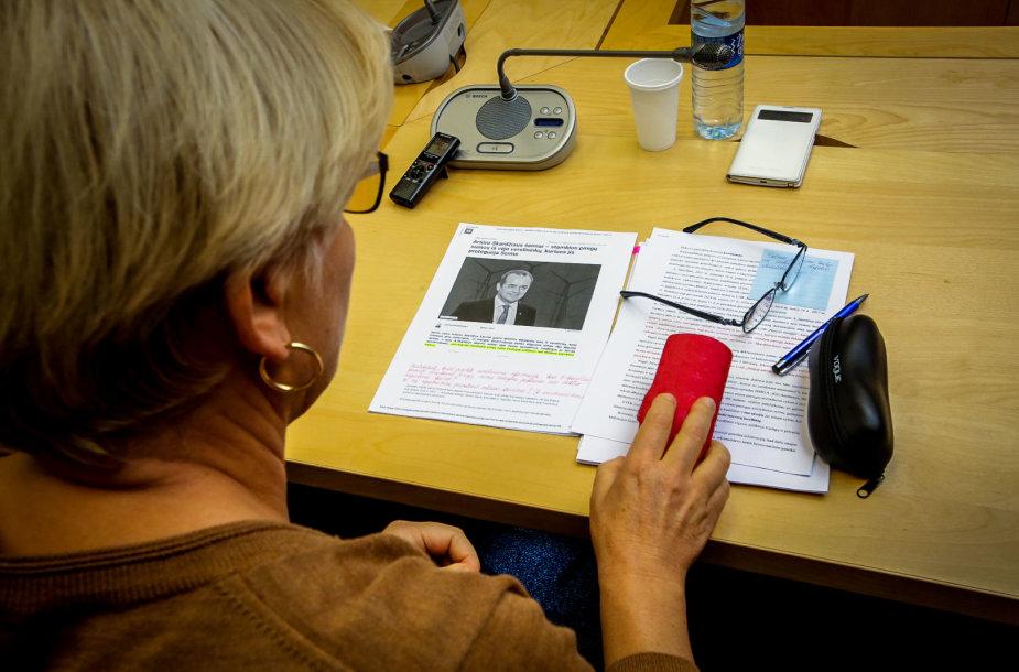 Seimo Etikos ir procedūrų komisijos posėdis