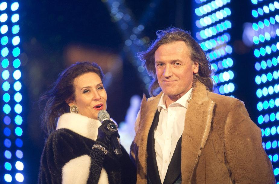 Irena Starošaitė ir Žilvinas Žvagulis