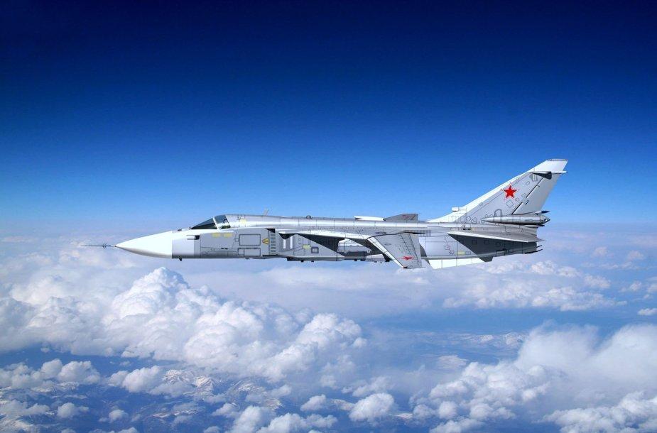Rusijos karinis lėktuvas Su 24