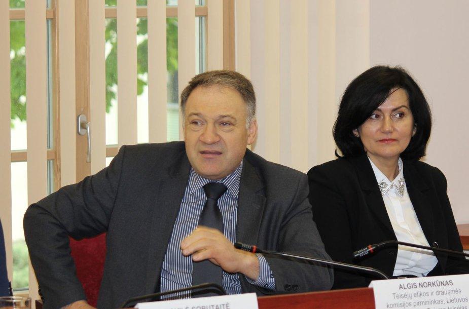 teisėjas Algis Norkūnas
