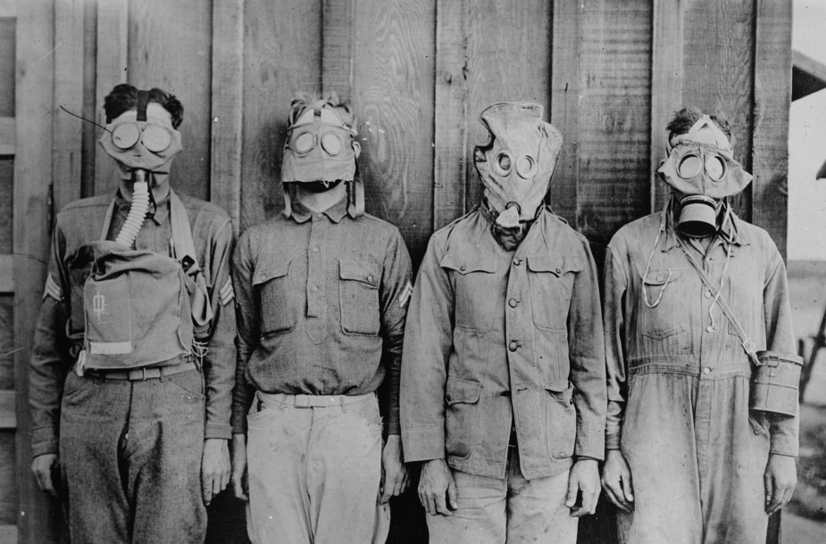 Prieš šimtą metų 1917 balandžio 6 d. į Pirmąjį pasaulinį karą įsitraukė JAV pajėgos