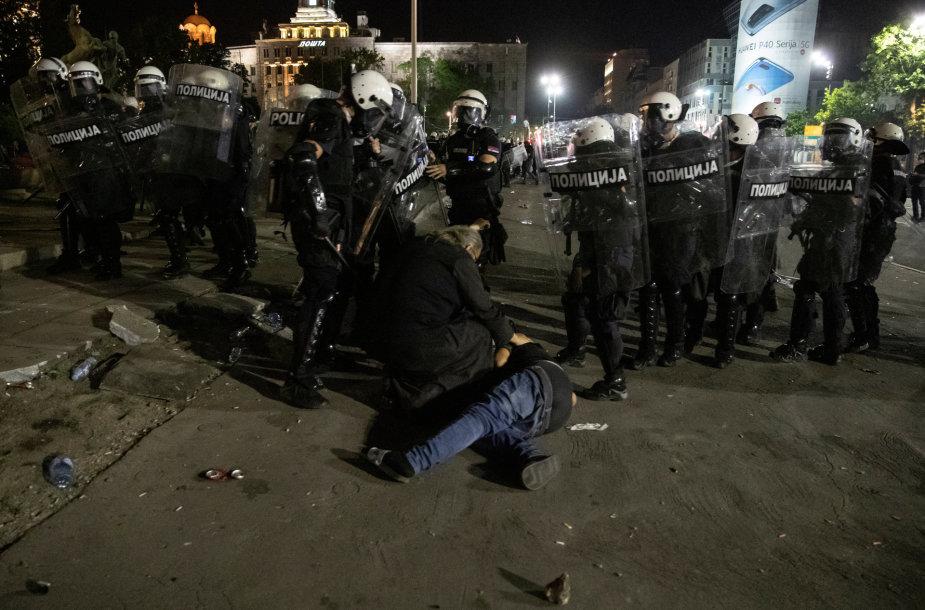 Protestai Serbijoje