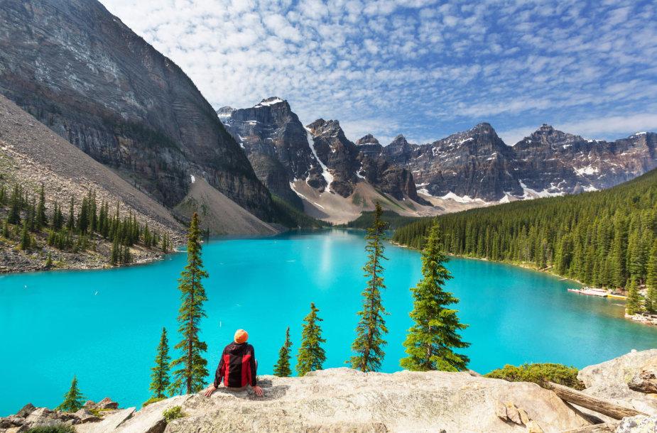 Ežeras Kanadoje