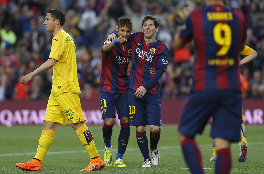 Lionelis Messi ir Neymaras