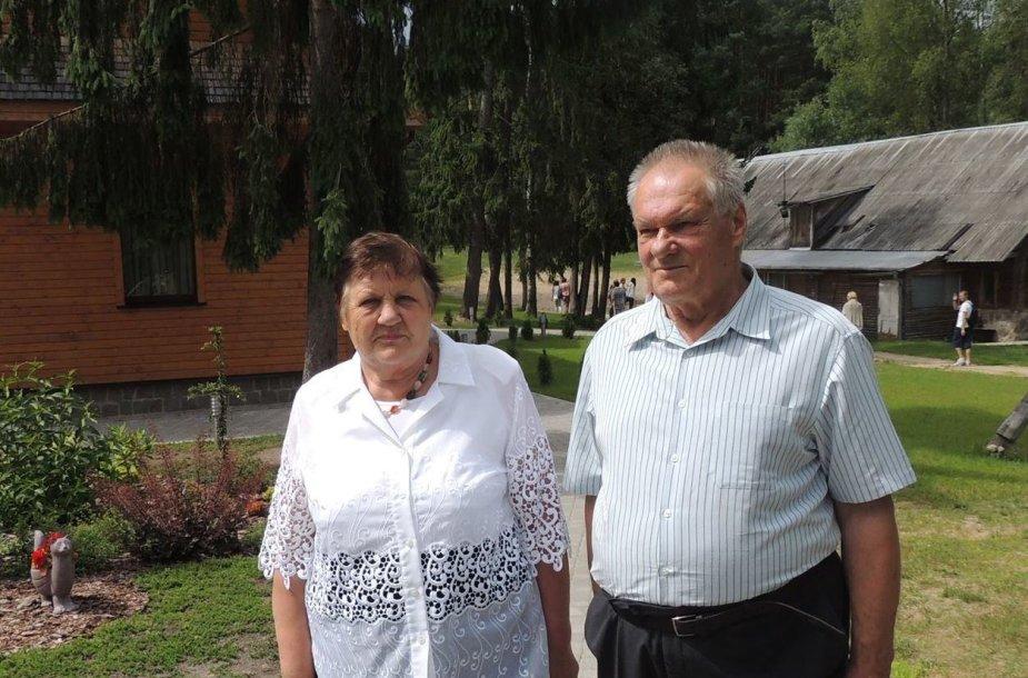 Bolius Paulauskas su žmona