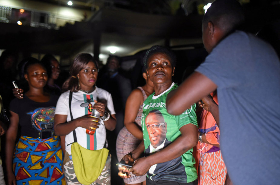 Siera Leonės opozicijos rėmėjai