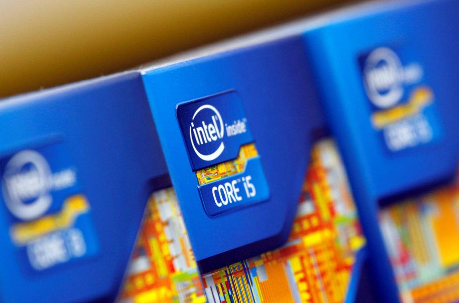 """""""Intel"""" procesoriai pakuotėse"""