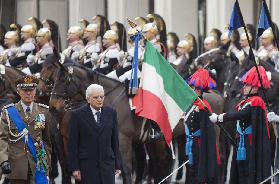 Naujasis Italijos prezidentas.