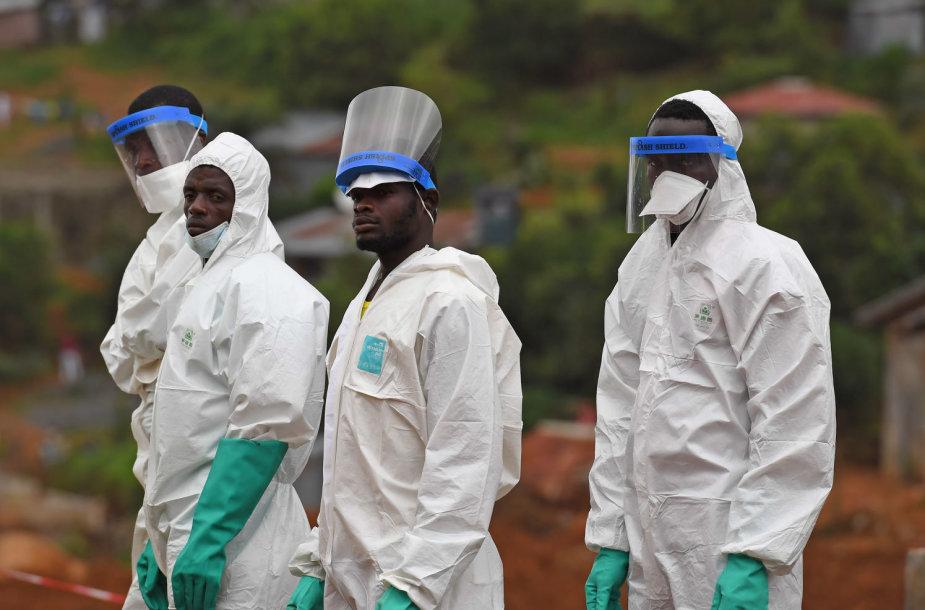 Gelbėtojai Siera Leonėje