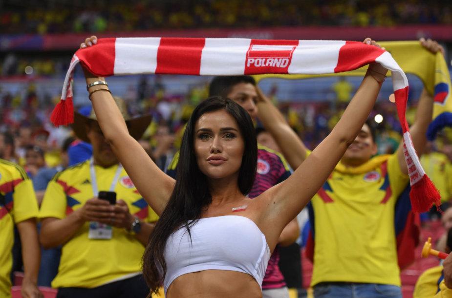 Lenkija – Kolumbija
