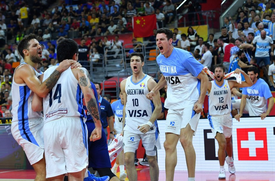 Argentinos krepšinio rinktinė