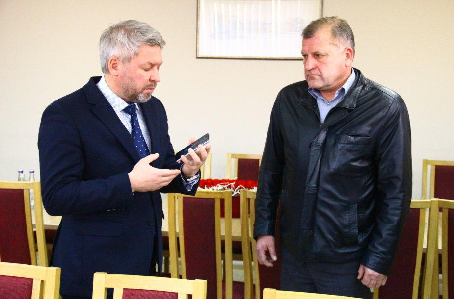 Antanas Vagonis ir Eimutis Mališauskas