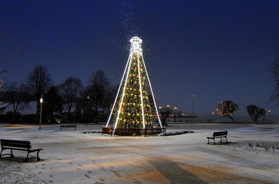 Neringos Šv.Kalėdų eglė.