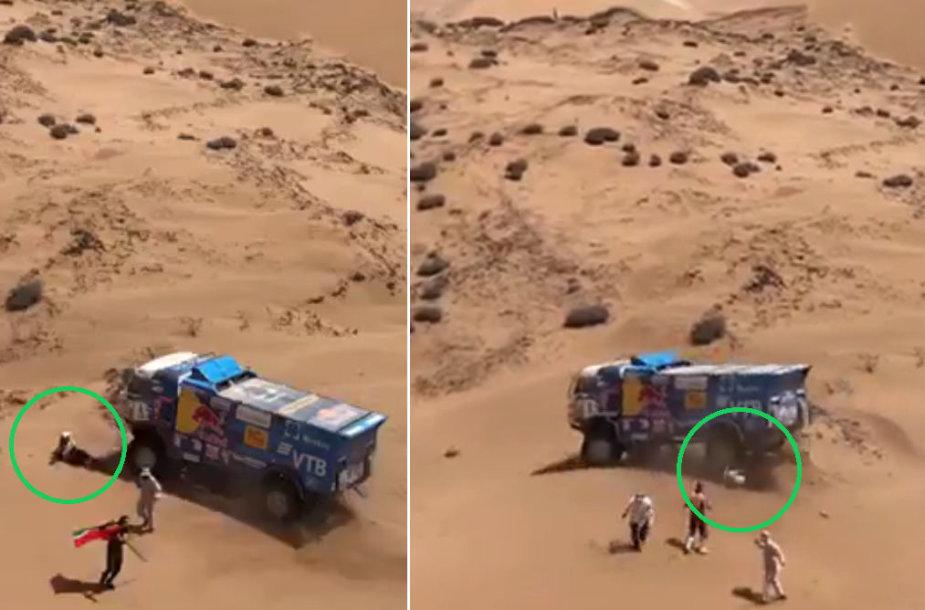 Nelaimė Dakare – sunkvežimis pervažiavo žmogų