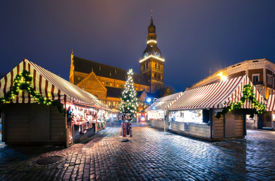 Kalėdų laukimas Rygoje