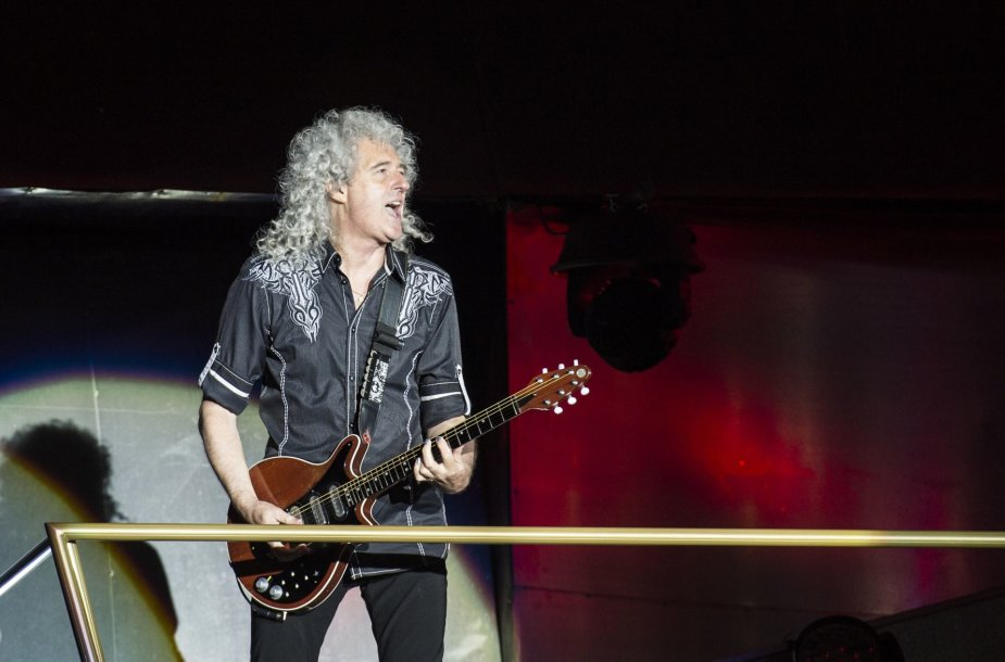 "Brianas May iš ""Queen"""
